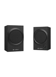 Logitech Z240 Wired 2.0 Multimedia Speaker, Black