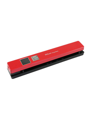 Iris IRIScan Anywhere 5 Business Card Scanners, 1200DPI, TFT Color Display, Red