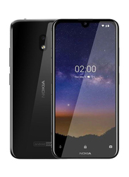 Nokia 2.2 32GB Tungsten Black, Without FaceTime, 4G LTE, Dual Sim Smartphone