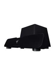 Razer Wireless & Wired 5.1 Channel Speaker, with Sound Bar, Black