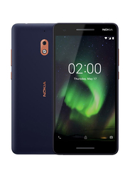 Nokia 2.1 8GB Blue, Without FaceTime, 1GB RAM, 4G LTE, Dual Sim Smartphone