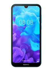 Huawei Y5 (2019) 32GB Sapphire Blue, Without FaceTime, 2GB RAM, 4G LTE, Dual Sim Smartphone