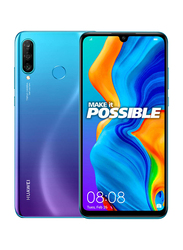 Huawei P30 Lite 128GB Peacock Blue, Without FaceTime, 4GB RAM, 4G LTE, Dual Sim Smartphone