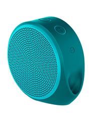 Logitech X100 Wireless & Wired Portable Bluetooth Speaker, Mint Green