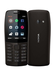 Nokia 210 (2019) Charcoal, Without FaceTime, 16MB RAM, GSM, Dual Sim Phone