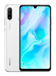 Huawei P30 Lite 128GB Pearl White, Without FaceTime, 4GB RAM, 4G LTE, Dual Sim Smartphone