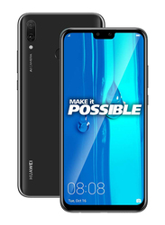 Huawei Y9 (2019) 64GB Midnight Black, Without FaceTime, 4GB RAM, 4G LTE, Dual Sim Smartphone