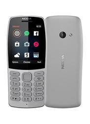 Nokia 210 (2019) Grey, Without FaceTime, 16MB RAM, GSM, Dual Sim Phone