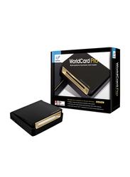 PenPower WorldCard Pro V8 PT-WOCPE Flatbed Scanners, Black