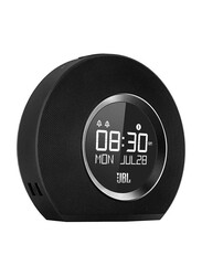 JBL Horizon Wireless & Wired, Clock Radio with USB Charging and Ambient Light Speaker, Black