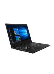 Lenovo ThinkPad E480, 14 inch HD Display, Intel Core i5-8250U 8th Gen, 1TB, 8GB RAM, 2GB AMD RX550 Graphics, EN Keyboard, DOS, 20KN001YAD, Black