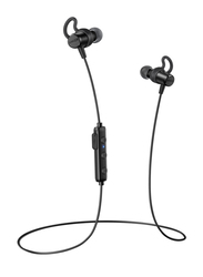 Anker SoundBuds Surge Wireless Bluetooth In-Ear Noise Cancelling Headphones, Black