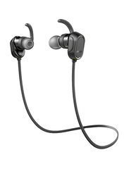 Anker SoundBuds Sport Wireless Bluetooth In-Ear Noise Cancelling Headphones, Black