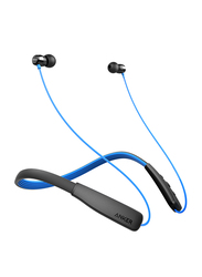 Anker SoundBuds Rise Wireless Bluetooth In-Ear Noise Cancelling Headphones, Black/Blue