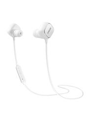 Anker SoundBuds Sport EI20 Wireless Bluetooth In-Ear Noise Cancelling Headphones, White