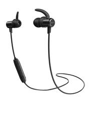Anker SoundBuds Slim Wireless Bluetooth In-Ear Noise Cancelling Headphones, Black