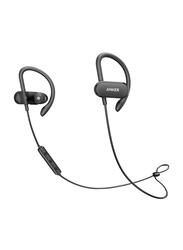 Anker SoundBuds Curve Wireless Bluetooth In-Ear Noise Cancelling Headphones, Black